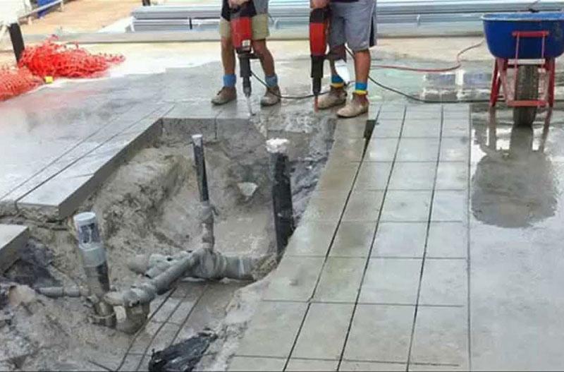 Dịch vụ đục phá bê tông tại Thuận An Bình Dương