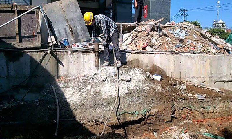 Dịch vụ khoan cắt bê tông tại Bàu Bàng Bình Dương