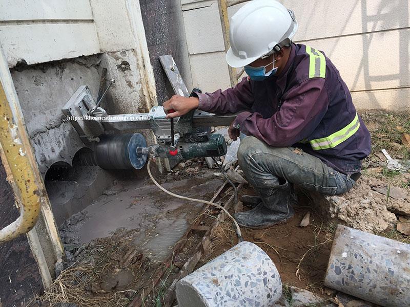 Dịch vụ khoan cắt bê tông tại Thuận An Bình Dương