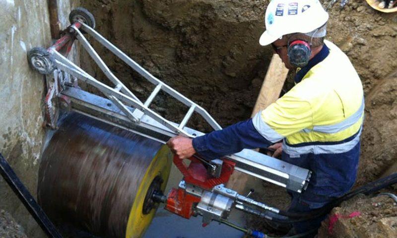 Dịch vụ khoan rút lõi bê tông tại Bến Cát Bình Dương