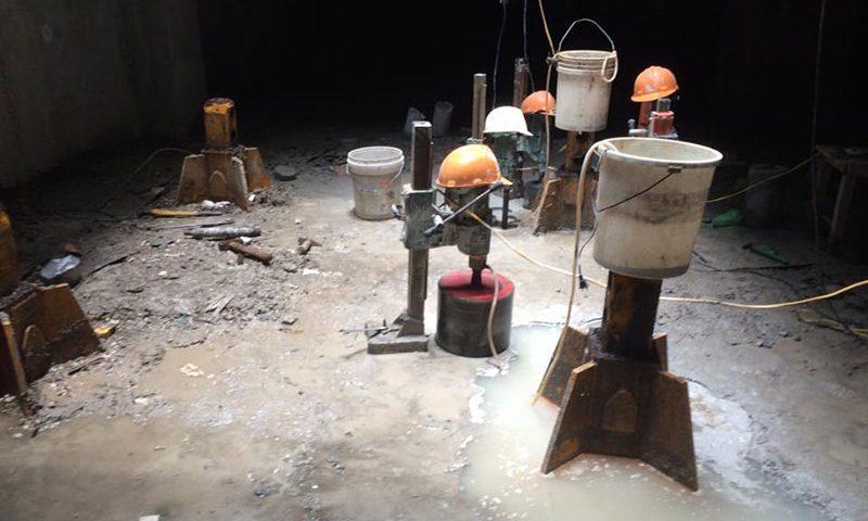 Dịch vụ khoan rút lõi bê tông tại Dĩ An Bình Dương