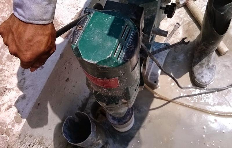 Dịch vụ khoan rút lõi bê tông tại Thủ Dầu Một Bình Dương