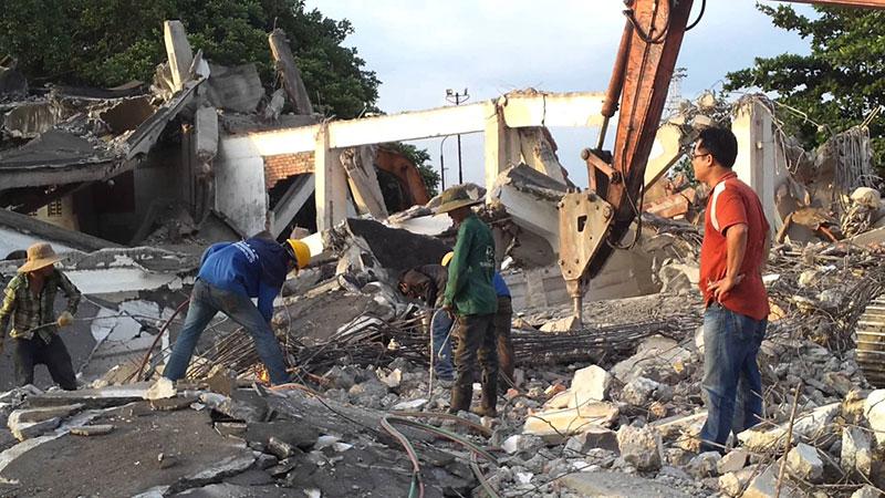 Tháo dỡ nhà xưởng tại Biên Hòa Đồng Nai