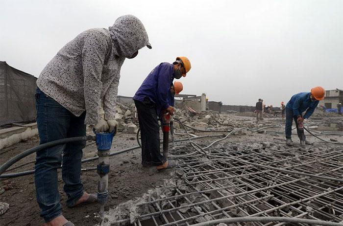 Đục phá bê tông tại Biên Hòa Đồng Nai