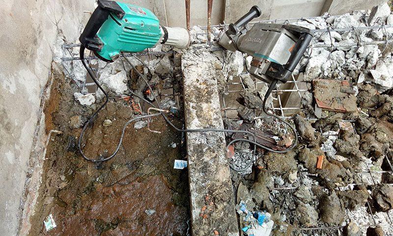 Đục phá bê tông uy tín giá rẻ tại Thủ Dầu Một Bình Dương