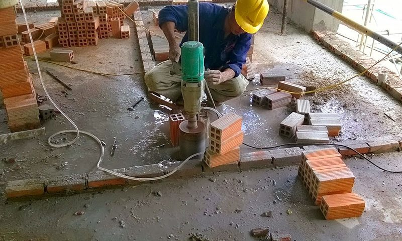Khoan cắt bê tông chuyên nghiệp chất lượng tại Tân Uyên Bình Dương