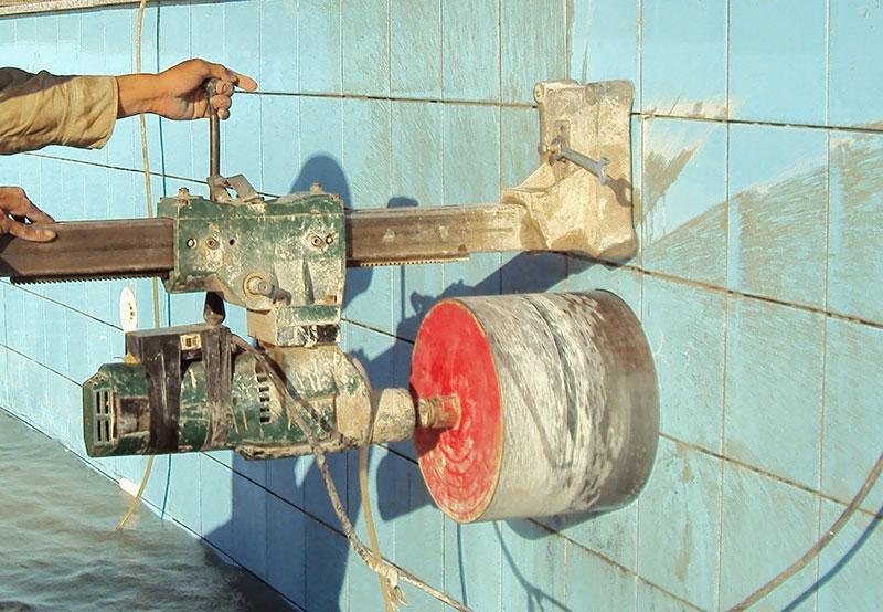 Khoan cắt bê tông chuyên nghiệp chất lượng tại Bến Cát Bình Dương