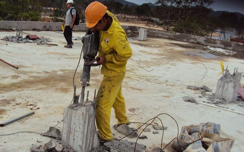 Dịch vụ khoan cắt bê tông tại Thủ Dầu Một Bình Dương