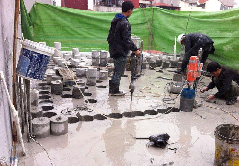 Khoan cắt bê tông uy tín giá rẻ tại Thuận An Bình Dương