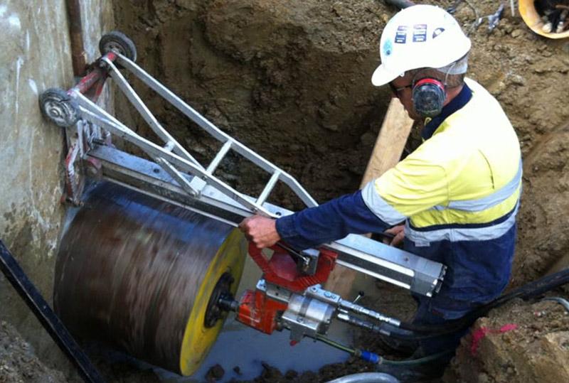 Khoan rút lõi bê tông chuyên nghiệp chất lượng tại Dầu Tiếng Bình Dương