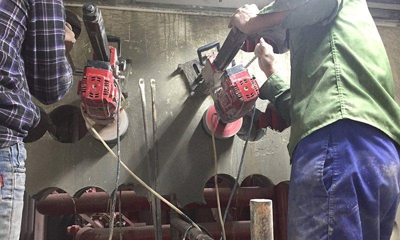 Khoan rút lõi bê tông chuyên nghiệp chất lượng tại Bàu Bàng Bình Dương