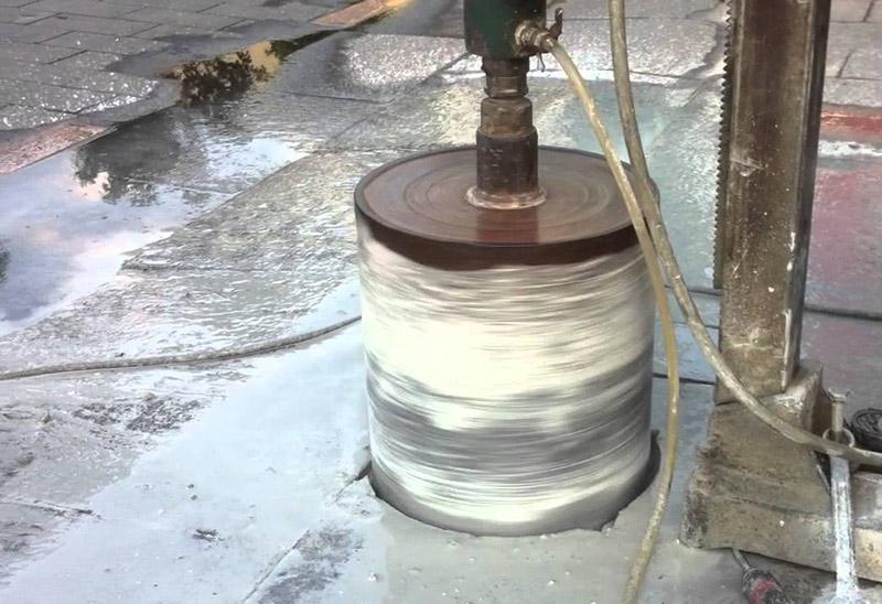 Khoan rút lõi bê tông chuyên nghiệp chất lượng tại Phú Giáo Bình Dương