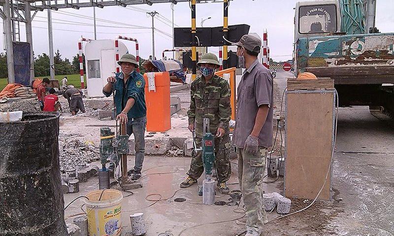 Khoan rút lõi bê tông uy tín giá rẻ tại Phú Giáo Bình Dương