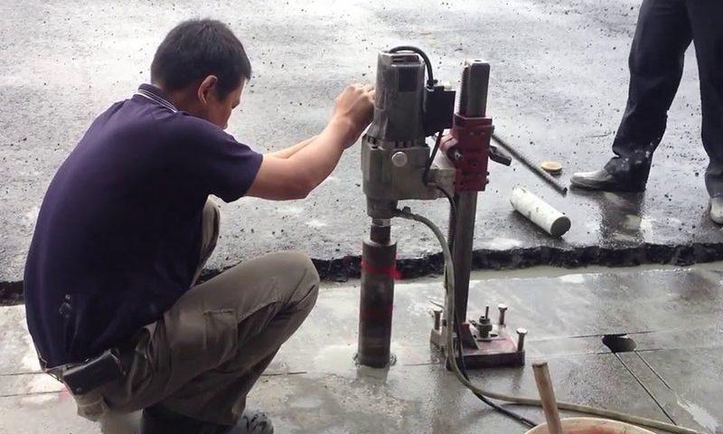Khoan rút lõi bê tông uy tín giá rẻ tại Thuận An Bình Dương