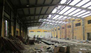 Tháo dỡ nhà xưởng tại Bình Dương