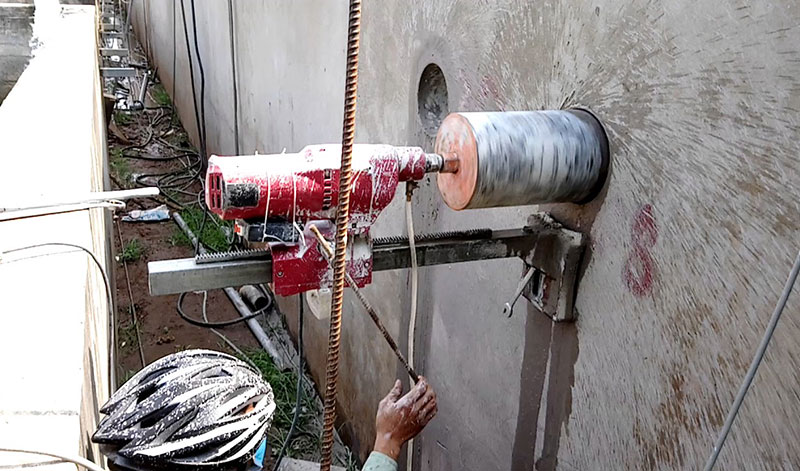 Dịch vụ khoan cắt bê tông Tây Ninh
