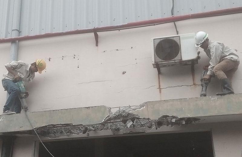 Khoan cắt đục phá bê tông tại TPHCM