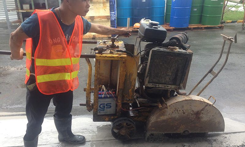 Khoan cắt đục phá bê tông tại Bạc Liêu