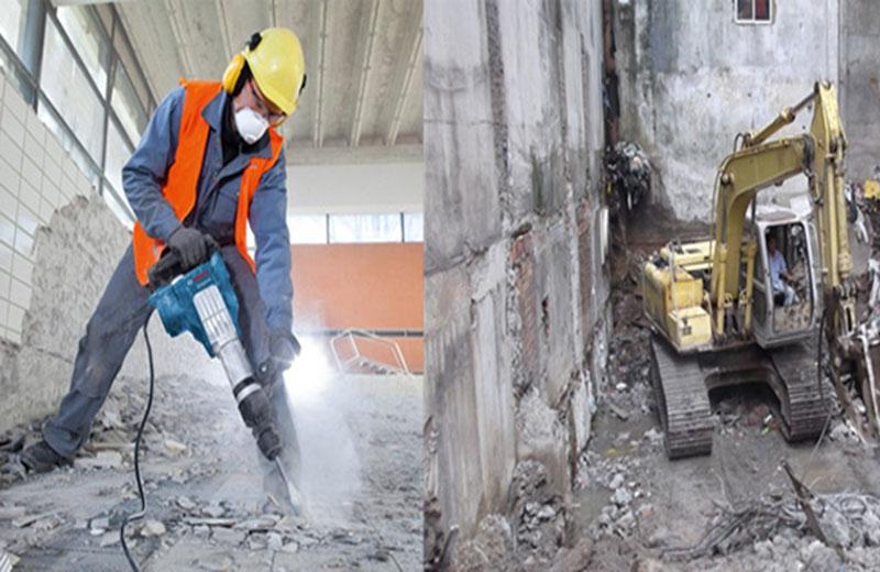 Khoan cắt đục phá bê tông tại Cà Mau