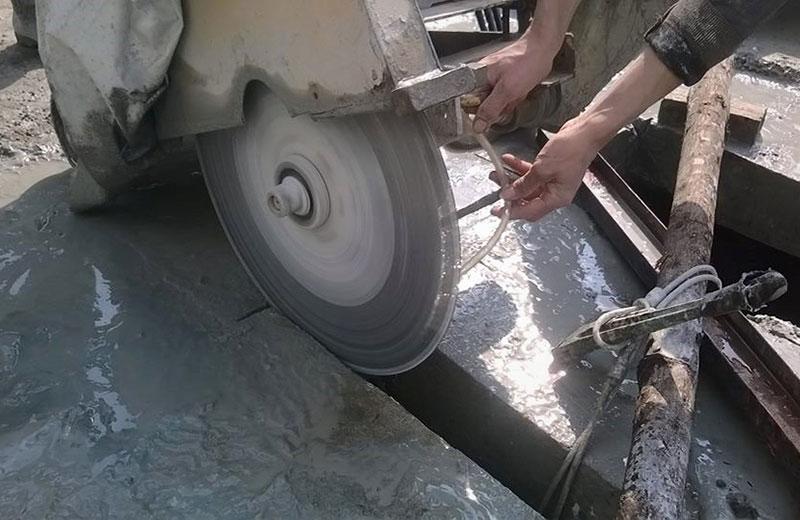 Khoan cắt đục phá bê tông tại Hậu Giang