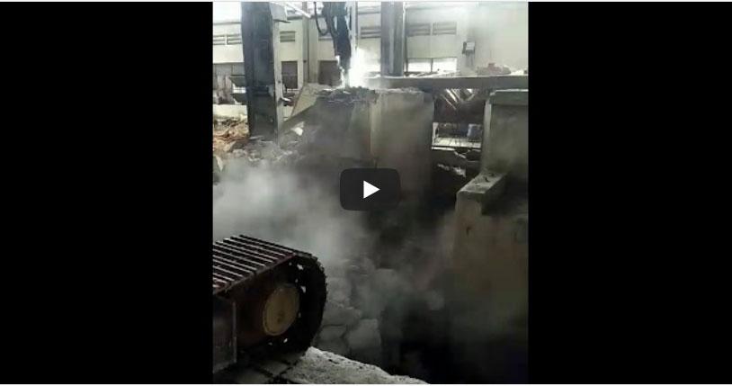 Công trình đục phá bê tông nhà máy thép Hoà Phát Bình Dương