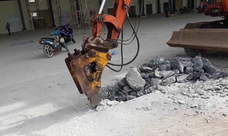 Khoan cắt đục phá rút lõi bê tông quận Tân Bình