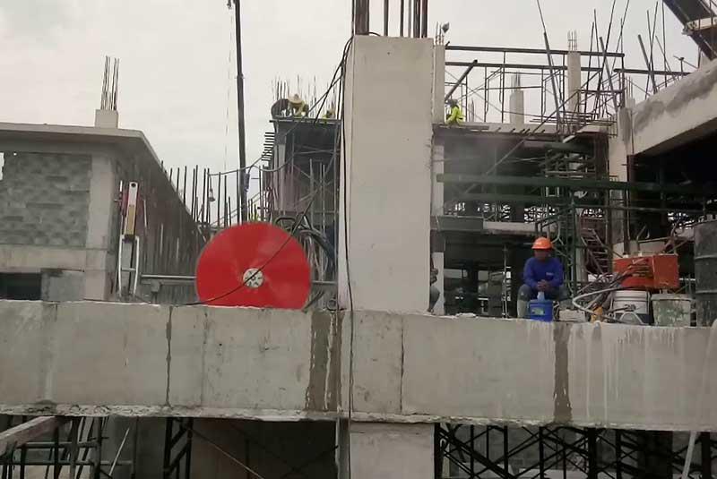 Khoan cắt đục phá rút lõi bê tông quận Tân Phú