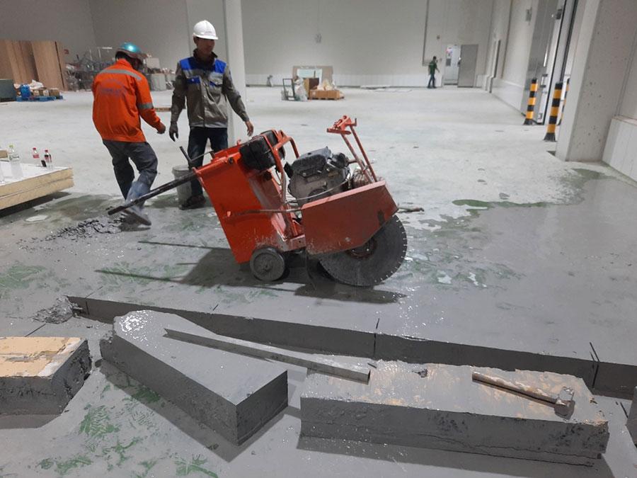 Khoan cắt bê tông ở Bình Định